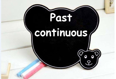 Unit 12: Past continuous