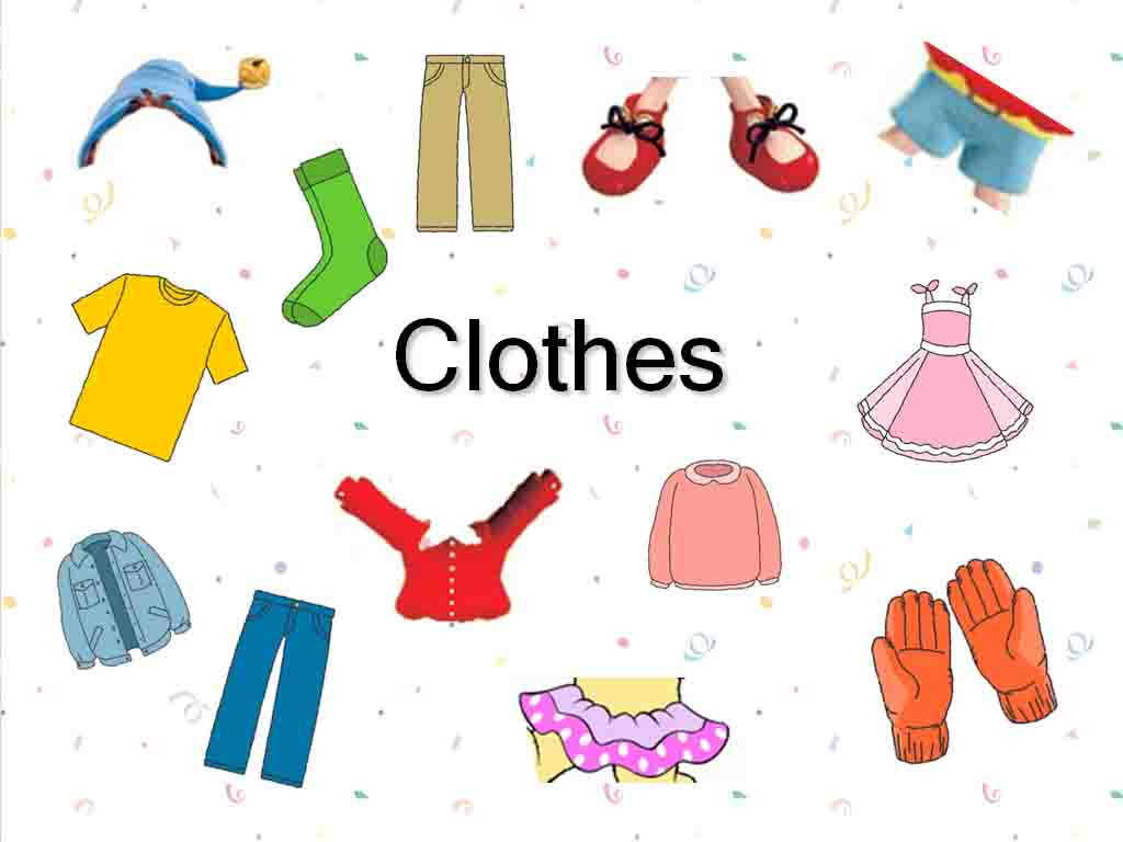 Unit 3: Clothes