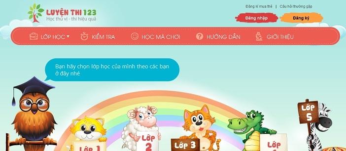 Ra mắt website luyện thi Toán - LuyệnThi123.Com » Tin tức từ TiếngAnh123 - Học  Tiếng Anh Miễn Phí, Học Tiếng Anh Trực Tuyến