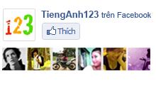 Cộng đồng TiếngAnh123 trên Facebook